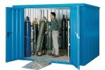 Gasflessen-container